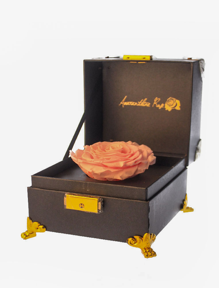 Pink Rose Delivery - Jewel Box