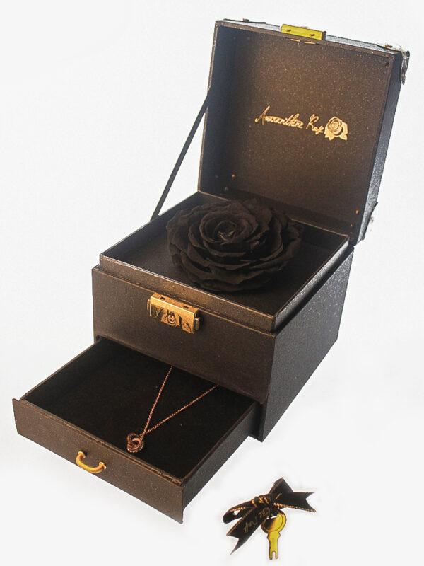 Black Rose Delivery Set